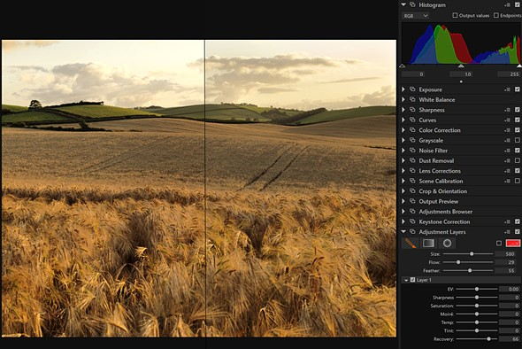 Hasselblad introduces keystone and local highlight recovery in Phocus 3.1 1