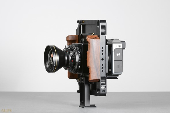 Alpa's HXD adapter lets you mount Alpa lenses on Hasselblad's 50MP X1D camera
