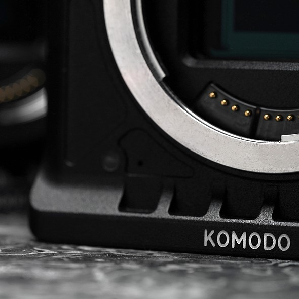 RED teases new Komodo system with what appears to be an RF lens mount
