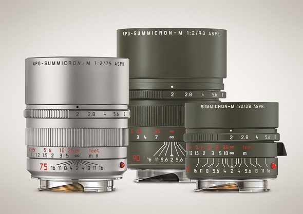 Leica announces three limited-edition Summicron M lenses
