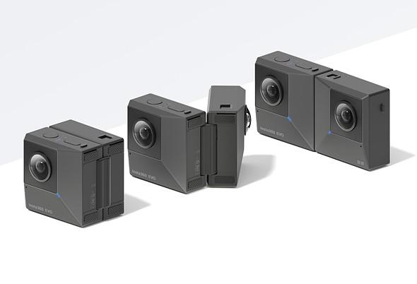 Meet the Insta360 EVO, a foldable camera that shoots 3D 180