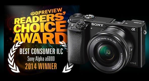 Best consumer ILC of 2014: Winner - Sony Alpha a6000