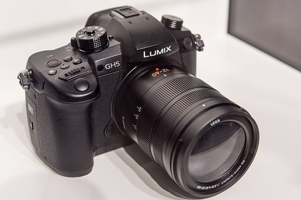 Here's the new Panasonic Lumix DMC-GH5