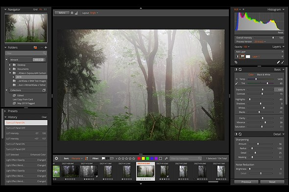 Learn a new photography application