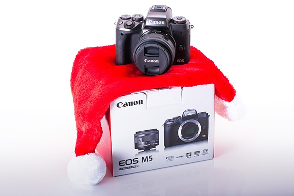 So you got a camera for Christmas?