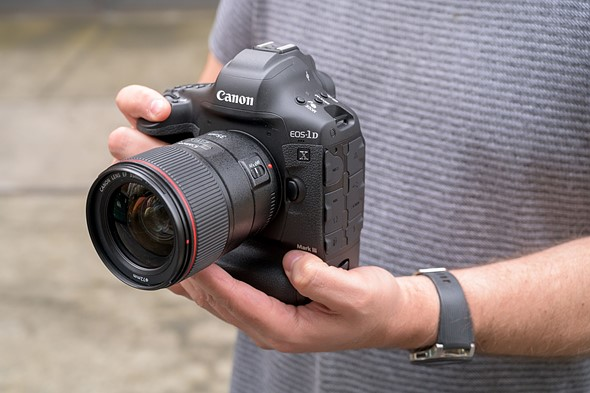 Hands on with the Canon EOS-1D X Mark III