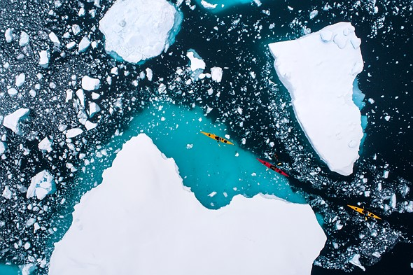 Florian Ledoux's arctic photos illustrate the effects of climate change