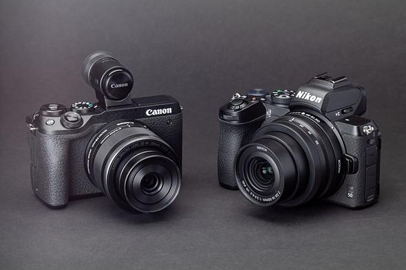 Midrange mirrorless comparison - Nikon's Z50 versus Canon's EOS M6 Mark II