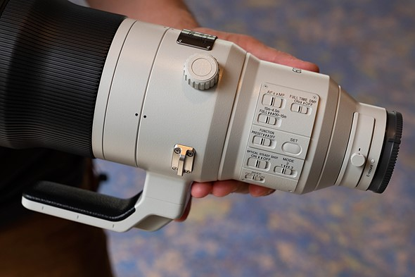 Hands-on with new Sony GM 600mm F4 and G 200-600mm F5.6-6.3
