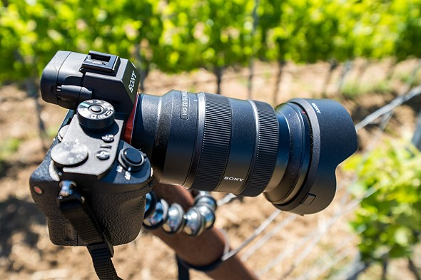 Hands on with new Sony wide-angle lenses