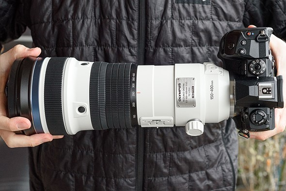 Hands on: Olympus 150-400mm F4.5 TC1.25x