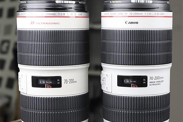 LensRentals Canon EF 70 200mm F28 Mark III And II Teardown