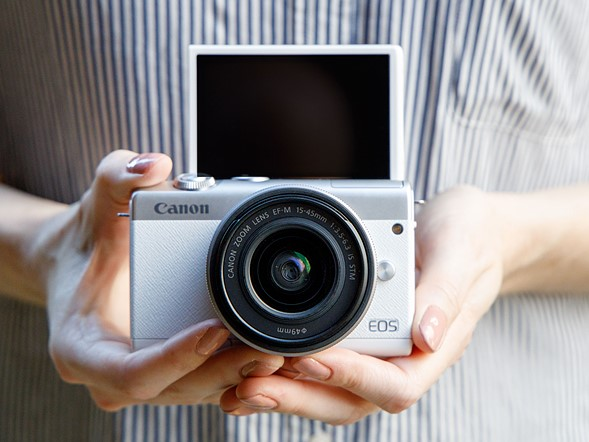 Meet the Canon EOS M200