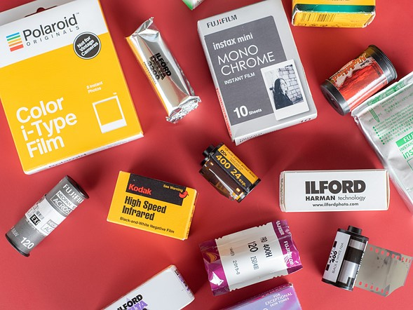 Common film formats & types