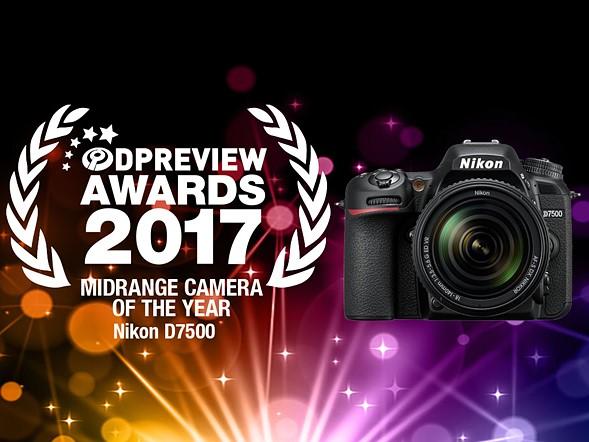 Winner: Nikon D7500