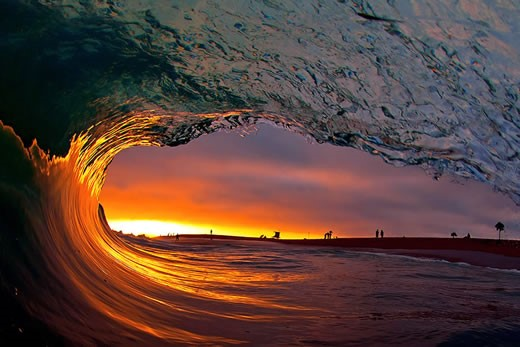 Clark Little's incredible wave photography