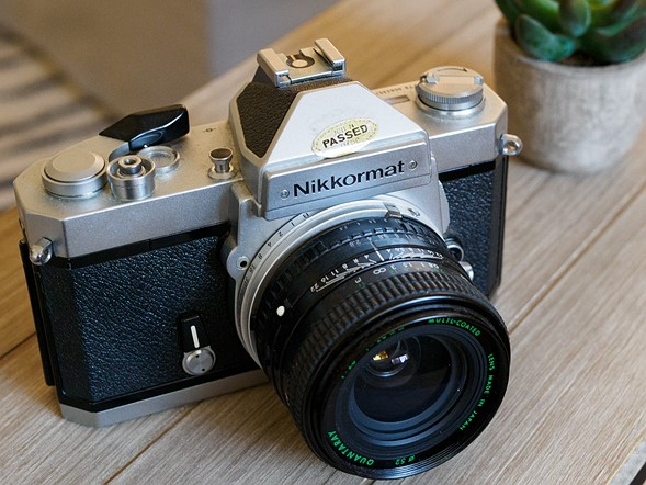 <strong>Nikkormat FT3</strong>