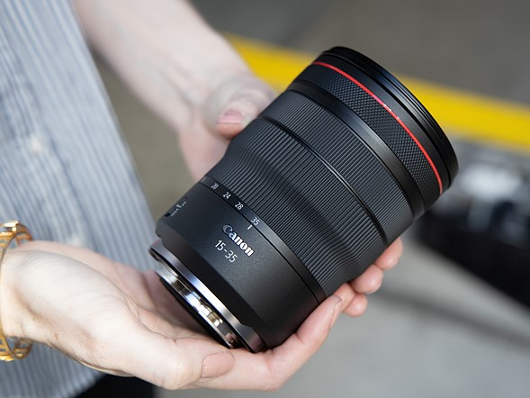 Hands-on with new Canon L-series RF zooms