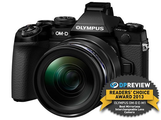 Best Mirrorless Interchangeable Lens Camera of 2013 - Winner: Olympus OM-D E-M1
