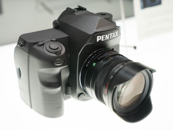 CP+ 2015: Up close and personal with Ricoh full-frame mockup