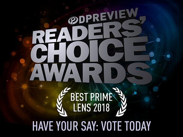 Have your say: Best prime lens of 2018