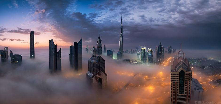 Photo story of the week: Dubai draped in fog