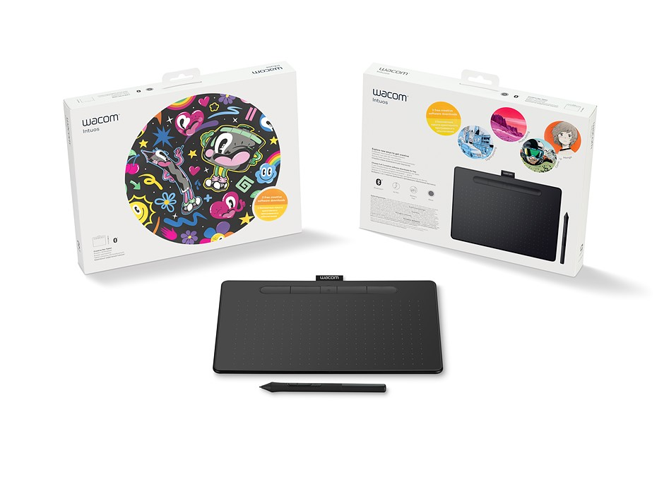 2ada30dac96 Wacom reveals new, 'significantly upgraded' Intuos pen tablet: Digital  Photography Review