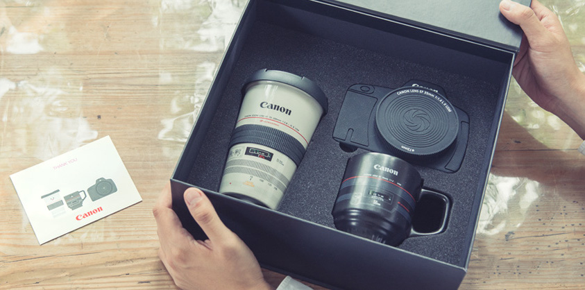 Canon Japan unveils a few silly gear-themed gifts for ...