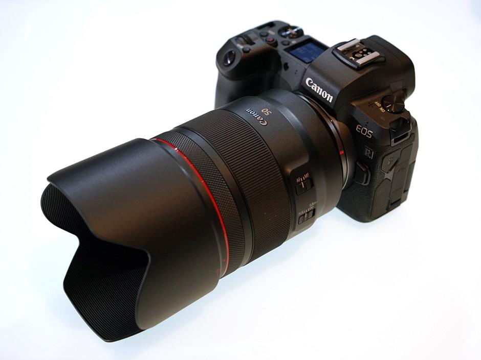 Four RF-mount lenses kick off Canon's new full-frame mirrorless system