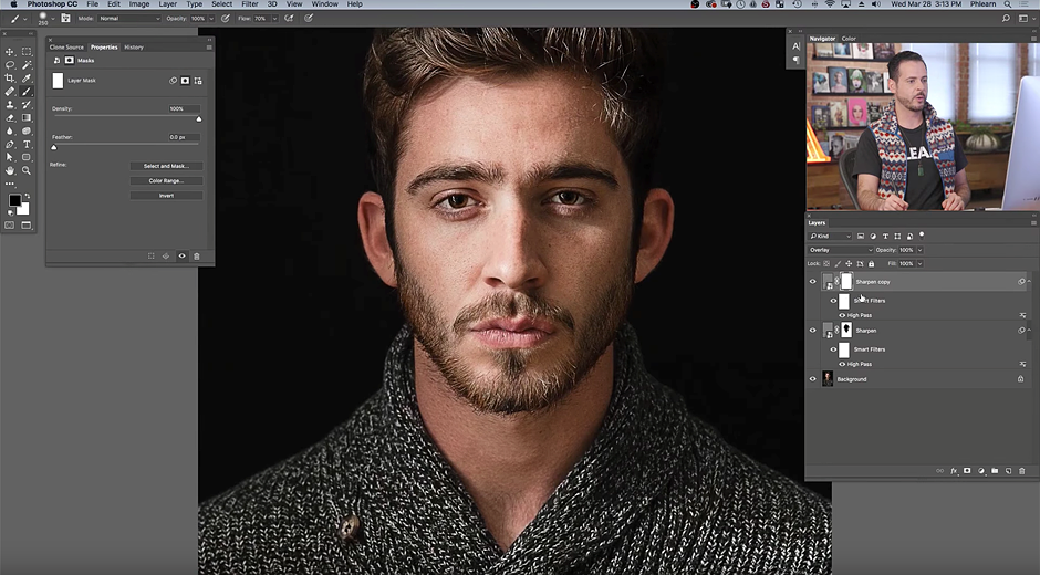 Tutorial: The best way to sharpen portraits in Photoshop