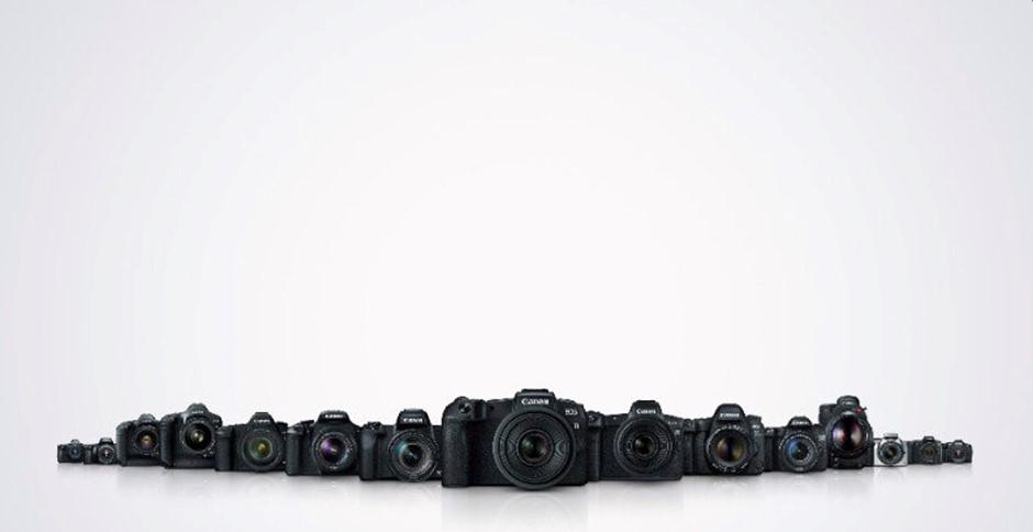 Canon has officially produced over 100 million EOS series interchangeable-lens cameras
