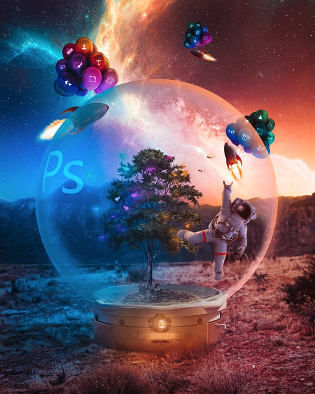 Adobe releases substantial update to the desktop and mobile versions of Photoshop for its 30th birthday