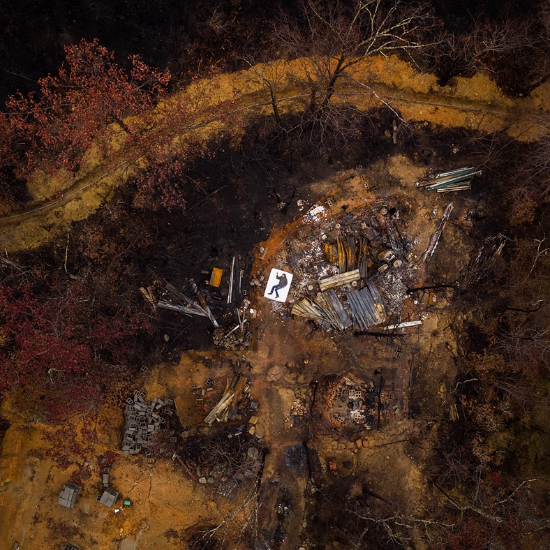 Photo story of the week: Drone portraits bring healing and awareness after wildfire