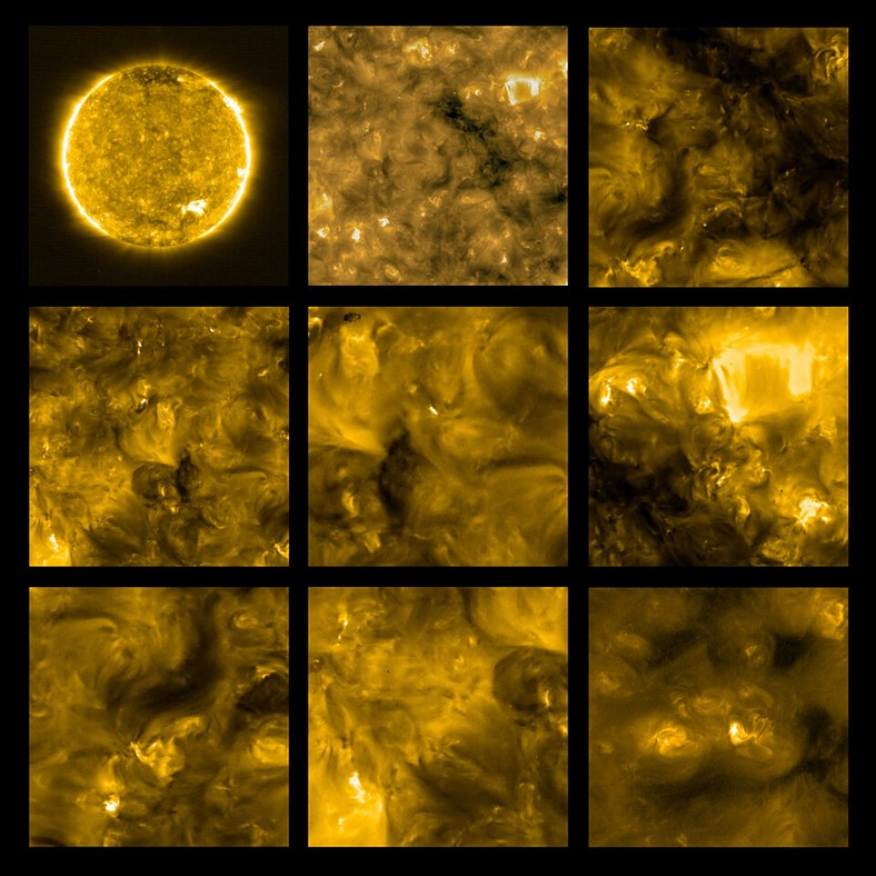 NASA and ESA Solar Orbiter spacecraft sends back closest ever images of the Sun