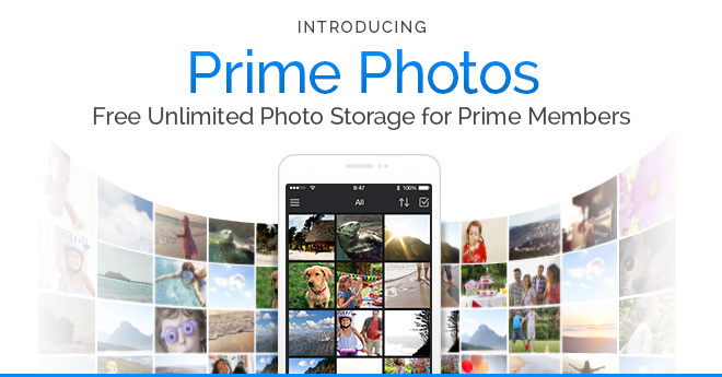 amazon launches prime photos with unlimited storage for. Black Bedroom Furniture Sets. Home Design Ideas