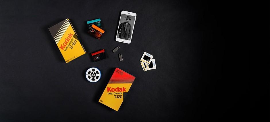 Kodak Digitizing Box service breathes life into old media with minimal effort