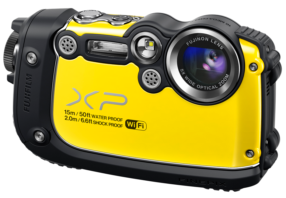 Fujifilm unveils Finepix XP200 rugged compact camera with Wi
