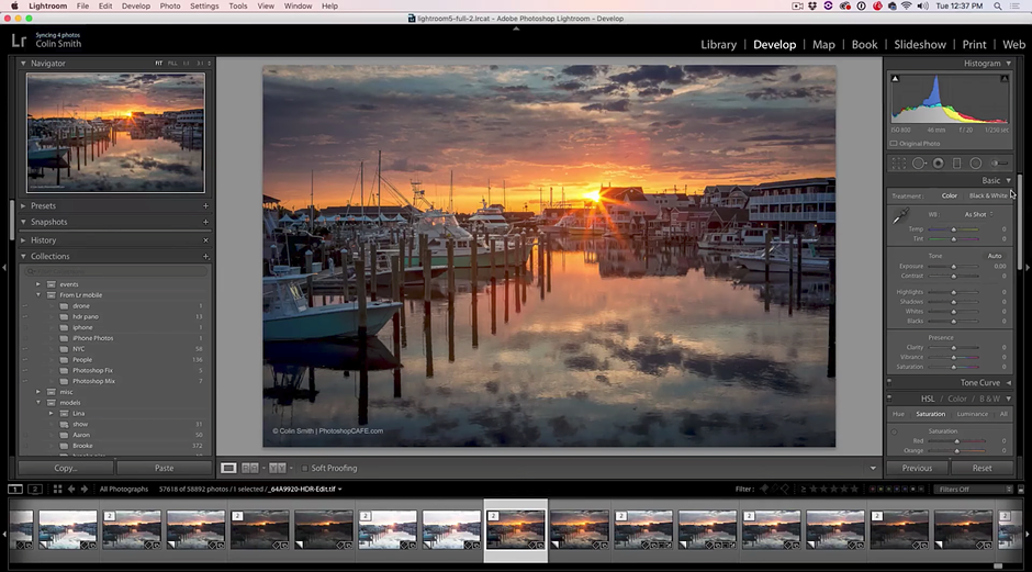 Seven 'hidden secrets' in Adobe Lightroom