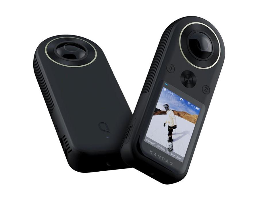 The Kandao QooCam 8K is an affordable pocket-sized 8K 360-degree camera