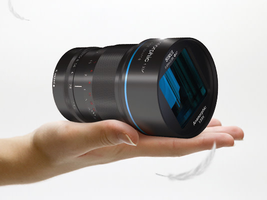 Sirui announces 50mm F1.8 anamorphic lens for mirrorless cameras set for April release