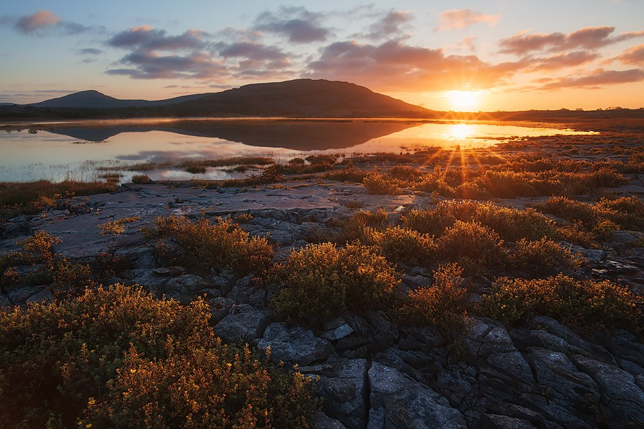 Photo story of the week: Sunrise in Burren National Park ...