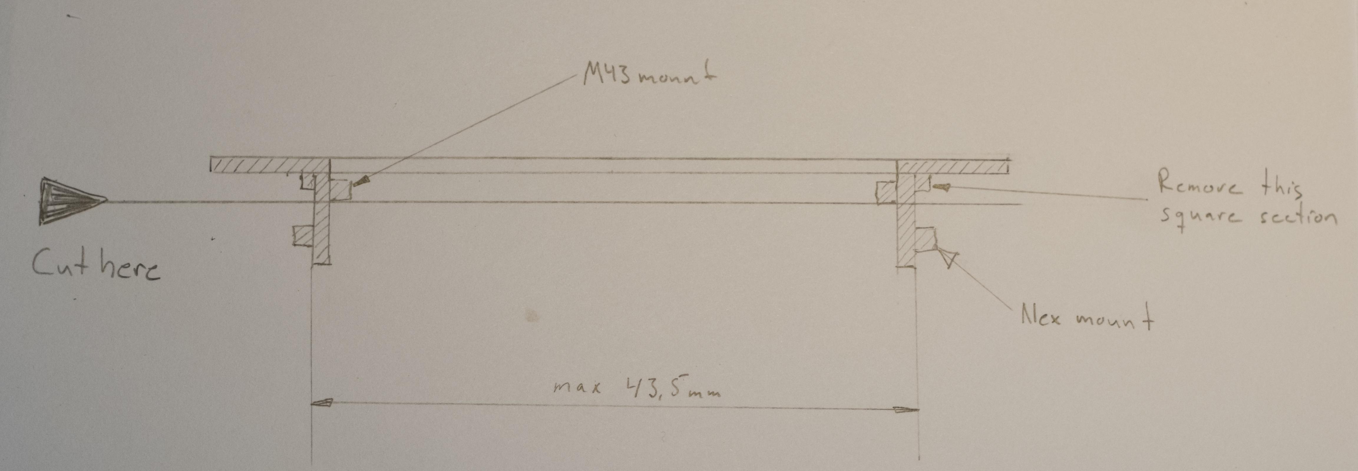 Leica R LR lens to M4/3 Micro Four Thirds MFT mount adapter