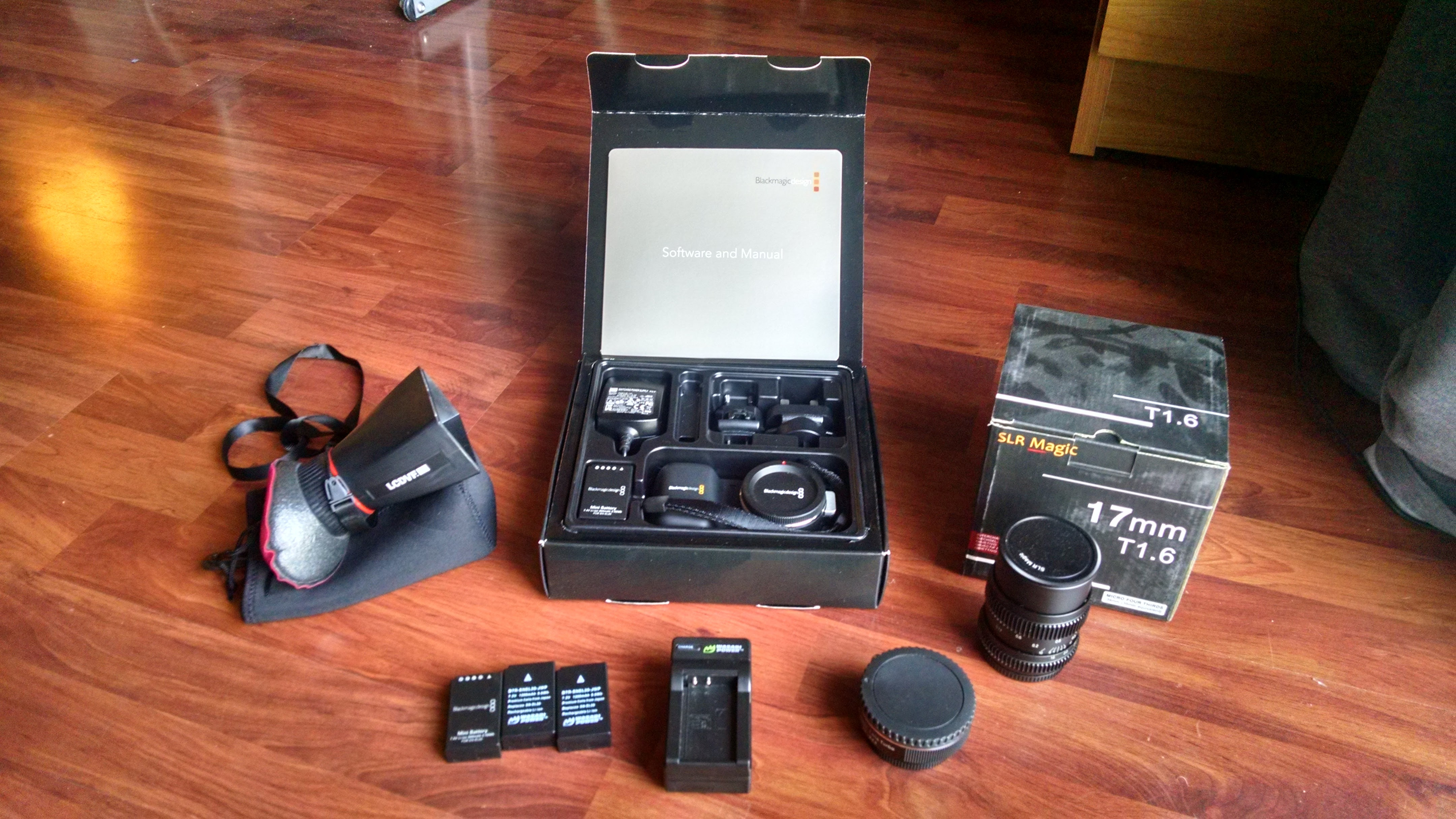 For Sale: Blackmagic Pocket Cinema Camera w/ SLR Magic 17mm