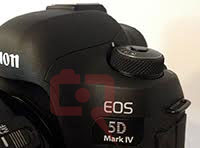 The new Canon 5D Mark IV image and specifications