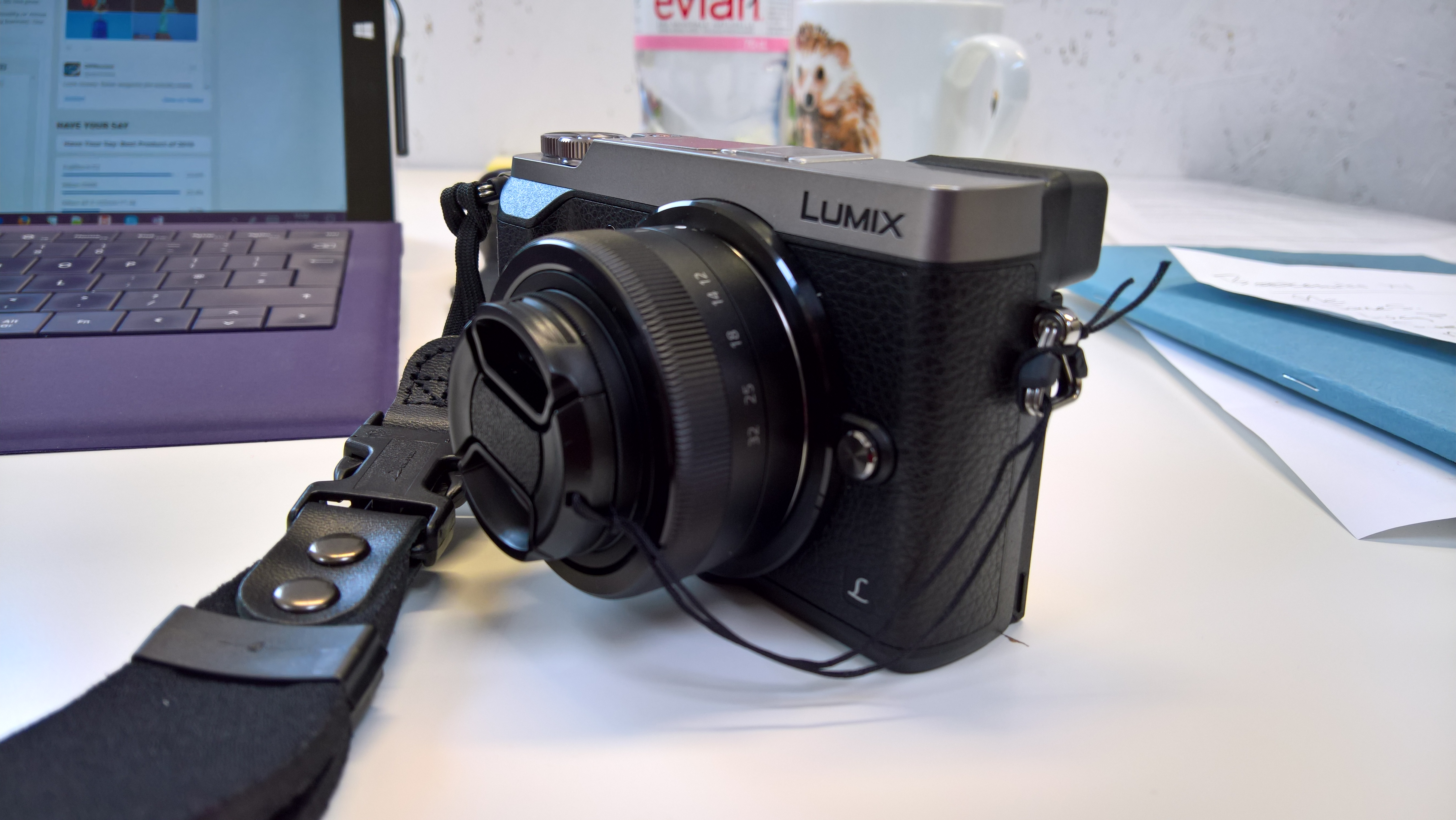 Gx85 With Kit Lens And Cap Micro Four Thirds Talk Forum Panasonic Lumix Gx85k Lensa 12 32mm Kamera Dmc View Original Size
