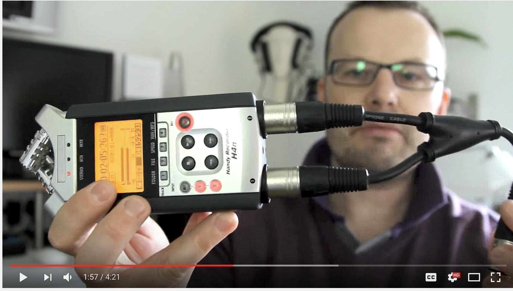 Zoom H1, H4n or Tascam DR 40 or similar?: Digital Video Talk