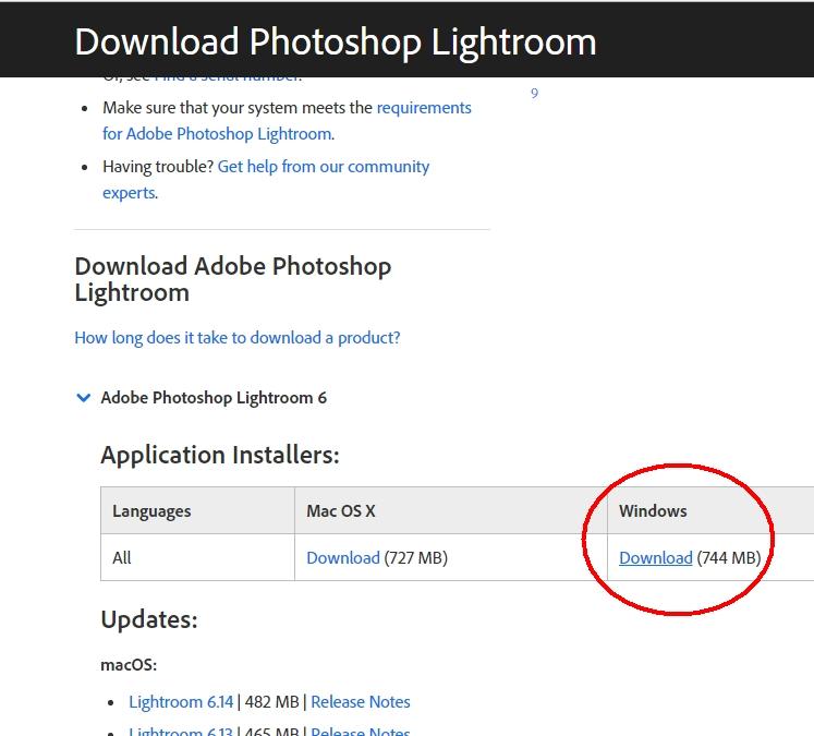 adobe lightroom cc 2015 direct download