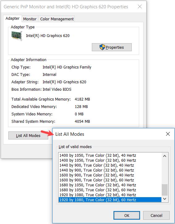 Do i have 32-bit color depth display or 8-bit color depth: Beginners