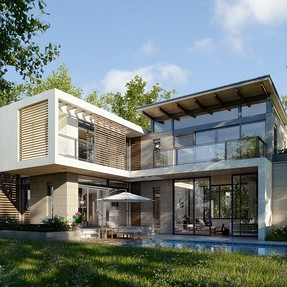 3D Residence Exterior