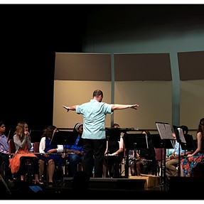 End of Year Concert at the Local Middle School